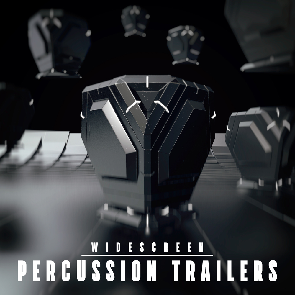 Percussive movie trailer album